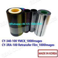 JVC CX7000 CY-340-100 YMCK & CY-3RA-100 Retransfer Film thumbnail image