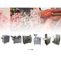 complete sausage production line