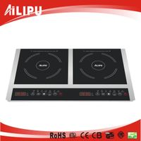 CB/CE Touch Control Double Burners Induction Hot Plate SM-DIC05
