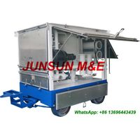 Trailer Mounted Mobile Type Dielectric Oil Treatment Plant, Insulating Oil Filtration Plant