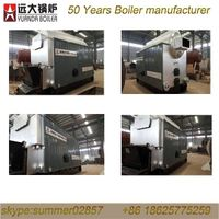 water tube and fire tube coal fired hot water boiler