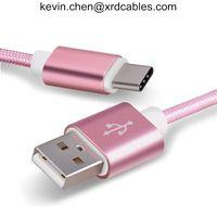 USB type-c cables for xiaomi mi5 Oneplus LG Nexus 5x huawei samsung letv usb type c wire thumbnail image