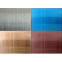 Color Stainless Steel Mirror Finish Steel Sheet Supplier