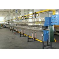 rubber salt-bath vulcanizing line