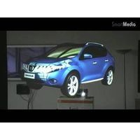 auto adhesive rear projection screen film(high contrast,vivid performance) thumbnail image