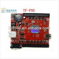 led display full color rgbw control card/led controlling board TF-FNU