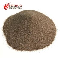 Brown fused alumina oxide corundum powder for sale China manufacturer