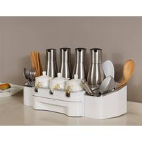 Multifunctional Seasonings Holder for Kitchen Table Storage