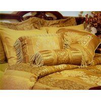 jacquard bed set