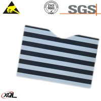 High Security chrome paper rfid blocking card sleeves thumbnail image