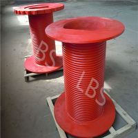 Lebus Grooved Geometry Drum for Crane Winch