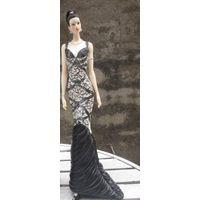 Black dress models show custom sexy girl figurine modern home decor thumbnail image