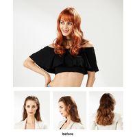 EYESHA fusion fashion wig 805B (Orange mix - natural wave style)