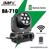 Battery Mini Moving Head Wash Zoom 710W