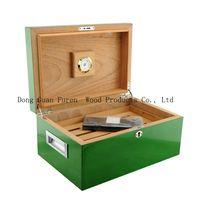 high quality customized wooden cigar packaging box cigar cabinet cigar humidor