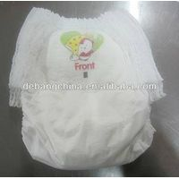 Grade A Disposable Biodegradable Baby  Diapers