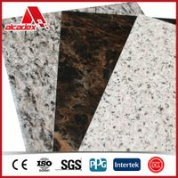 marble finished building decorative composite panel ACP