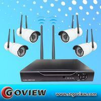 5.8GHz WIFI Security Cameras Wireless Kit support Plug Play
