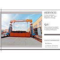 Hydraulic gantry crane sbl1100t