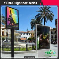 Energy-Saving Solar Light Poles Light box Display