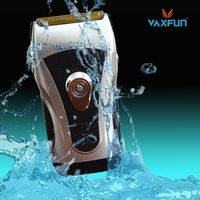 Triple Blades Washable Battery Shaver VS-8907