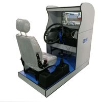 Standard truck driving simulator(one screen)