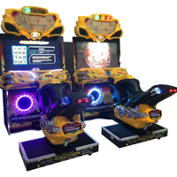 42 Inches Super Bike Amusement Dedicated Game Machine Coin Operated Machine