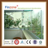 EU best selling frameless window