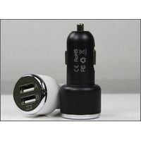 Dual USB Car Charger With 2.1A Output