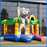 Elephant Inflatable Bouncer thumbnail image