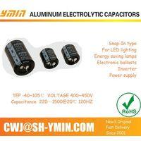 industrial Power supply aluminum electrolytic capacitors