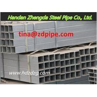 Galvanized square steel tube/hollow sections