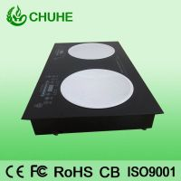 220v stainless steel commercial induction hob