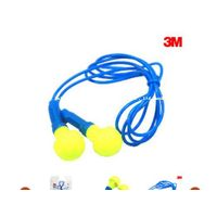 3M E-A-R Push-Ins Corded Earplugs