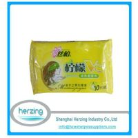 Custom Restaurant Hand and Face Tissues/ Wipes OEM Welcomed