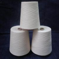 100% virgin ring polyester spun yarn
