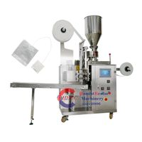 11 New Generation Tea Bag with Thread and Tag Packing Machine