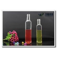 High quality 250ml 500ml olive oil cooking glass bottle with screw cap and shrink