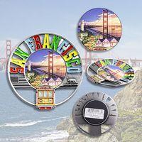 Custom Design Fridge Magnets Christmas Fridge Magnets