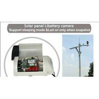 5 Megapixel auto sleep solar libattery time lapse camera