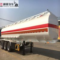 Steel 4 Axles 40000 Litres 50000l Fuel Tanker Trailer