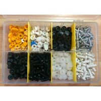 TC BV Certification 420pc Hardware Assorted Plastic Nuts And Bolts thumbnail image