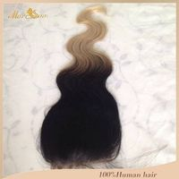 Tcolor body wave lace closure