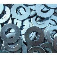USS Carbon Steel Zinc Large Flat Washers