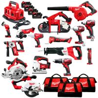 2019 Milwaukee M18 18V Cordless 15-Piece Combo Kit