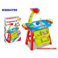 KIDSEASON kids drawing toys desk with projector
