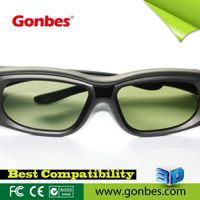 3D active shutter tv glasses compatible with IR and Bluetooth signal for samsung sony panasonic shar