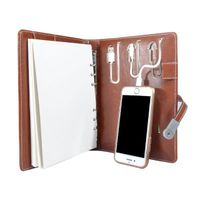 Power Bank Executive Diary with 16 GB Pen Drive - 4000 mAh Power Bank