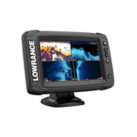 Lowrance Elite-7 Ti2 Fishfinder/Chartplotter Combo with Active Imaging 3-in-1 Transom Mount Transduc