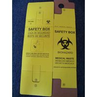 10 Liters Safety Box For Hospital